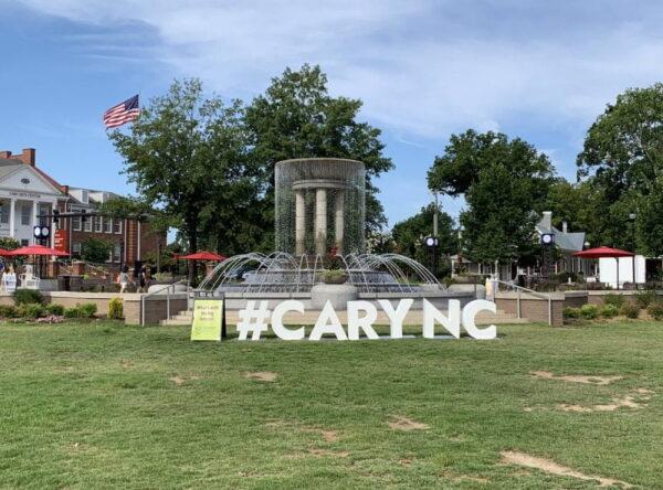 Working in Cary, North Carolina