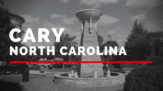 living and working in Cary